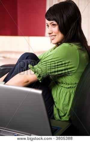 Relaxing Asian Girl