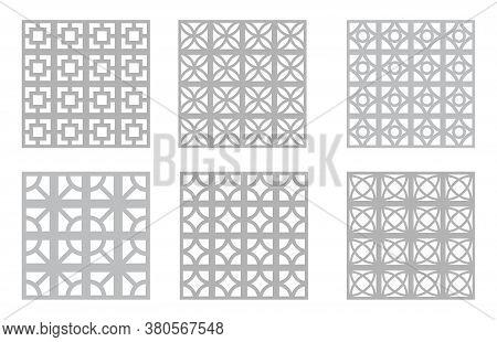 Breeze Block Patterns | Mid-century Modern Concrete Block | 1960s Design Resource