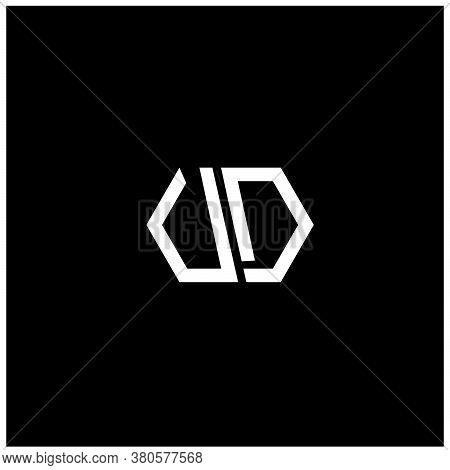 Letter V And Letter D Logo Design, Vd Logo