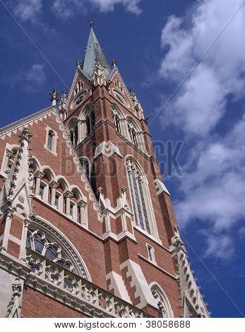 The Herz-jesu-kirche (church Of The Sacred Heart Of Jesus)