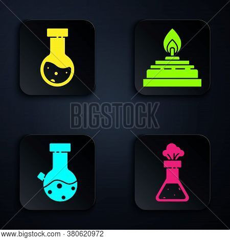 Set Test Tube And Flask Chemical, Test Tube And Flask Chemical, Test Tube And Flask Chemical And Alc