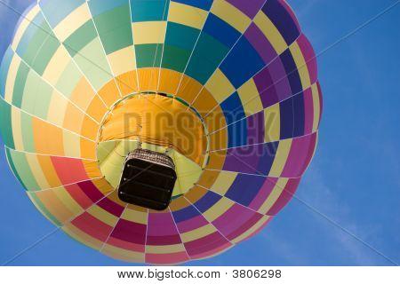 Rainbow Hot Air Balloon.