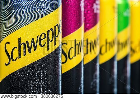 Schweppes Carbonated Drink In An Aluminum Can, Different Types Of Carbonated Drinks