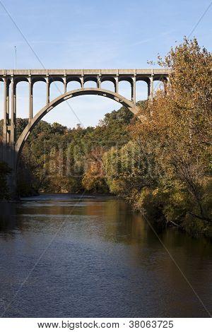 Bridge Above Cuyahoga River