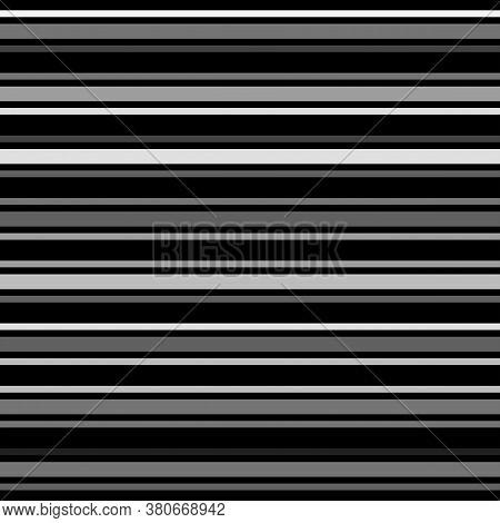 Sailor Stripes Seamless Pattern. Business Suit Horizontal Lines. Autumn Winter Modern Fashion Print.