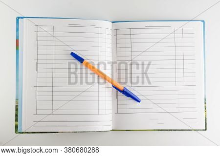 Student Diary For Notes On Studies And Grades