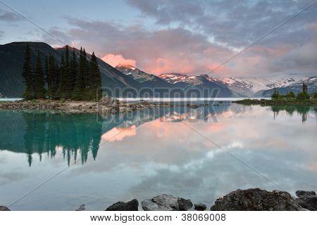 Garibaldi Lake Sunset