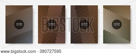 Gradient Zig Zag Stripes Texture Vector Backgrounds For   Business Covers. Minimalist Zig Zag Gradie