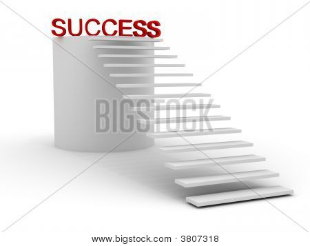 Stairway Leads To Success