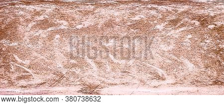 Watercolor Background In Pink And White Painting With Cloudy Distressed Texture And Marbled Grunge,