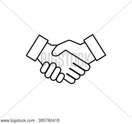 Handshake Icon. Hand Shake. Vector Illustration Eps 10