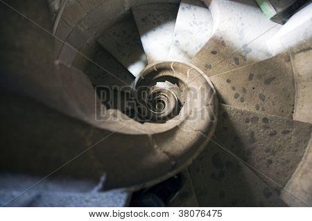 Sagrada Familia staircase