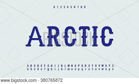 Vintage Retro Alphabet Fonts.typography Of Technology Creative Font