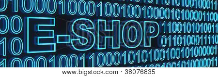 E-shop And Binaty Code