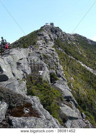 View of Whiteface Mountain, Adirondacks, New York, USA
