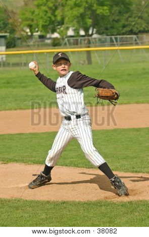 Baseball Pitcher #4