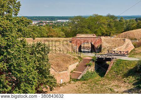 Petrovaradin Fortress In Novi Sad, Vojvodina Province Of Serbia