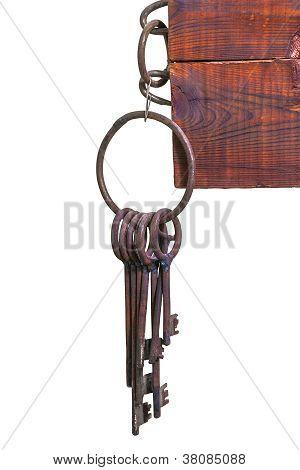 Old prison keys