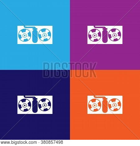 Car Cooling Radiator Outline Icon. Elements Of Car Repair Illustration Icon. Signs And Symbols Can B