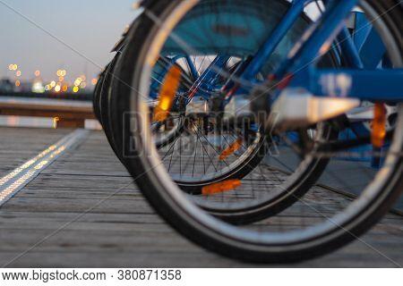 Urban Bike Share Program In Melbourne City, Australia