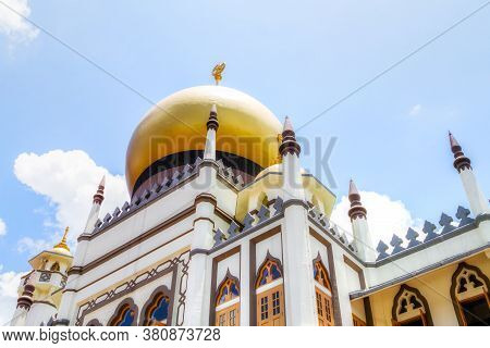 Masjid Sultan Mosque In Kampong Glam Is A National Monument In Singapore With A Long History Dating