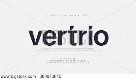 Abstract Modern Urban Alphabet Fonts. Typography Sport, Technology, Fashion, Digital, Future Creativ