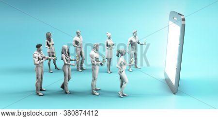 Data Monetization or Monetizing Services as a Business 3d Render