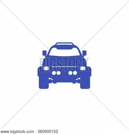 Off-road 4x4 Vehicle Icon, Eps 10 File, Easy To Edit