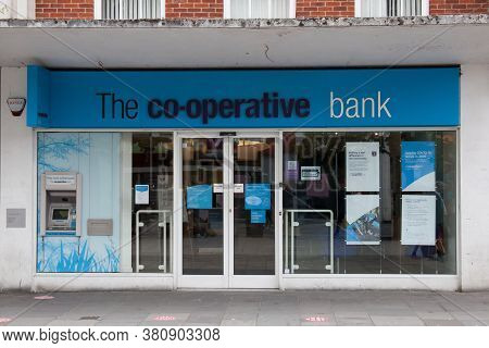 The Co-operative Bank In Southampton, In The Uk, Taken 10th July 2020