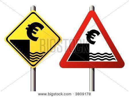 Euro Fall Sign