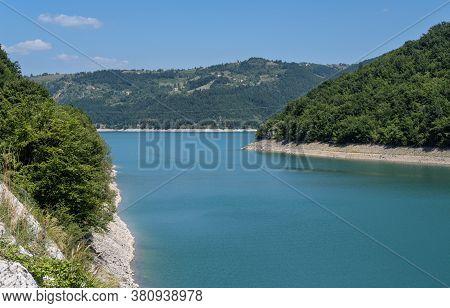 Zlatar Lake (zlatarsko Jezero) Summer View, Serbia.