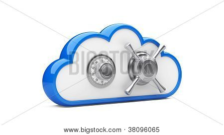 Combination Lock And Cloud