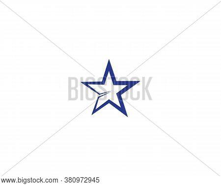 Star Logo Ans Symbol Template Illustration Design