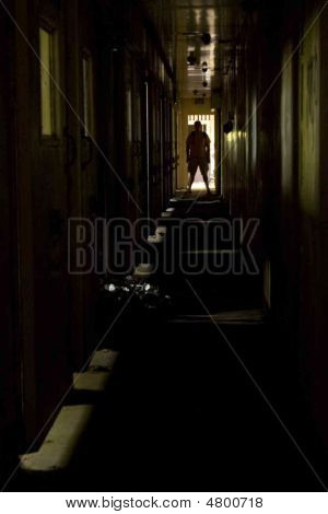 Man At The End Of The Hall