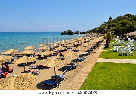Porto Zoro beach on Zakynthos