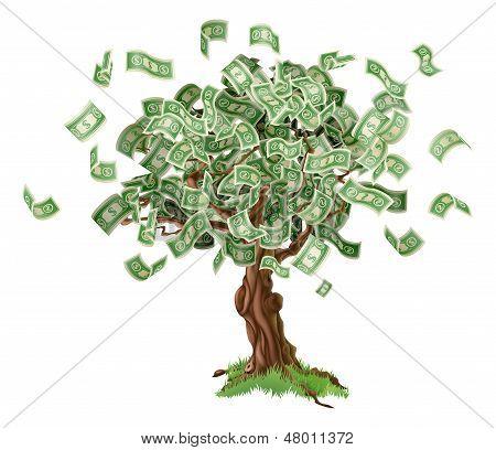 Money Savings Tree