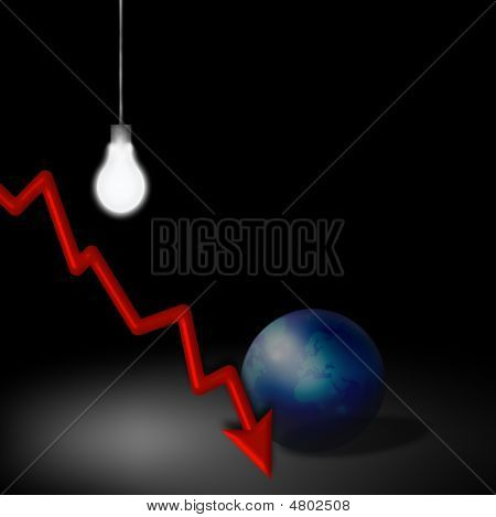 Idea de recesión económica