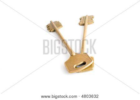 Two Gold Key