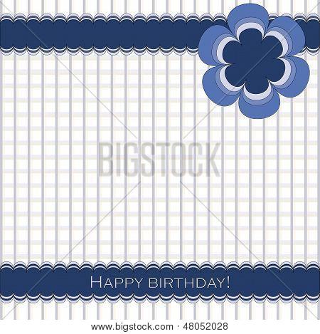 Happy Dirthday blue