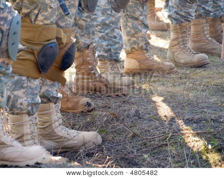 Usa Soldiers