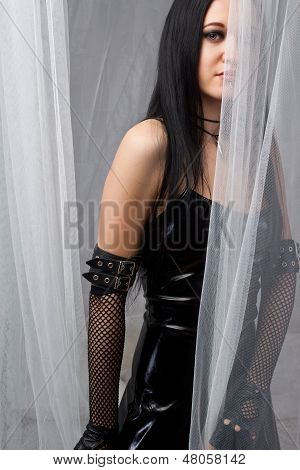 Mysterious Gothic Girl