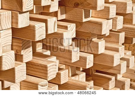 natural wood lath in different length