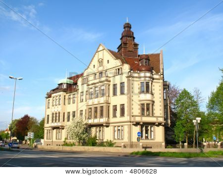 Historical House In Minden, Germany