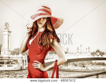 Young Sexy Fashionable Woman
