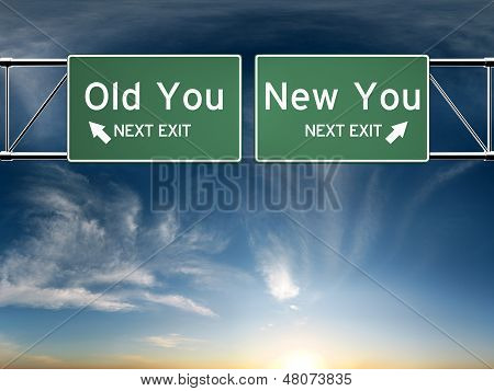 New you, old you.