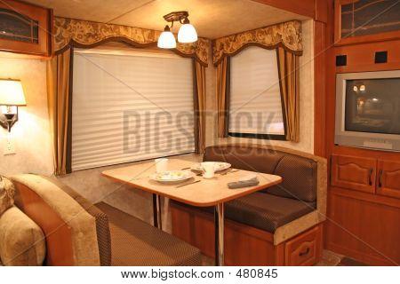 Inside R V - Dining