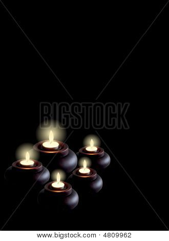 Candles Light Vertical