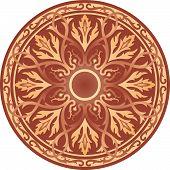 Symbolic Celtic Circle - Ornaments Vector Image poster