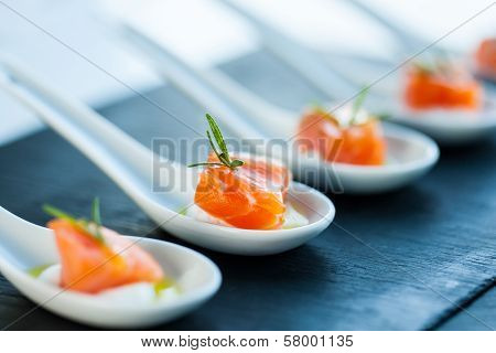Salmon Morsel.