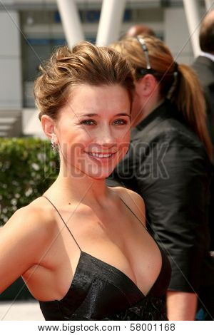 Olesya Rulin  At the 60th Primetime Creative Arts Emmy Awards Red Carpet. Nokia Live Theater, Los Angeles, CA. 09-13-08